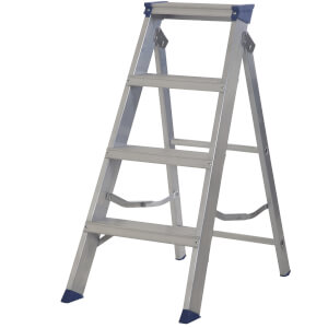 Werner MasterTrade Step Ladder - 4 Tread