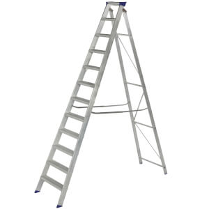 Werner MasterTrade Step Ladder - 12 Tread