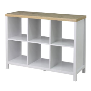 Clever Cube with Legs 2 x 3 - White