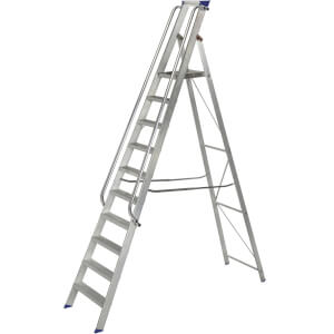 Werner Shop Step Ladder - 10 Tread