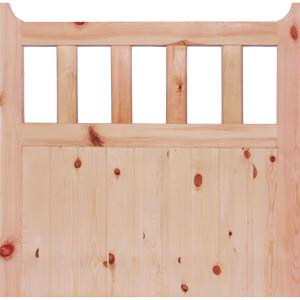 600 External Unfinished Redwood Gate - 915 x 915mm