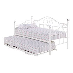 Florence Trundle Bed - White