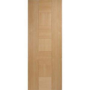 Catalonia Internal Prefinished Oak Fire Door - 838 x 1981mm