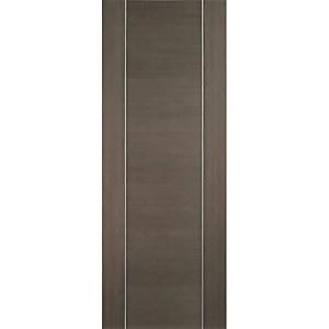 Alcaraz Internal Prefinished Chocolate Grey Door - 838 x 1981mm