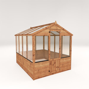 Mercia (Installation Included) 8x6ft Traditional Greenhouse