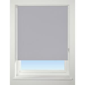 Light Grey Blackout Roller Blind - 90cm