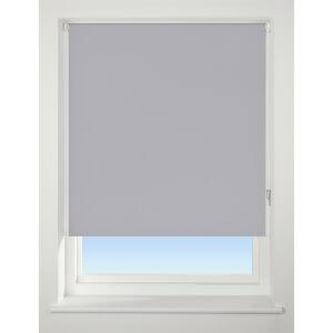 Light Grey Blackout Roller Blind - 180cm