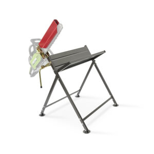 Handy Foldable Saw Horse W/chainsaw Supp