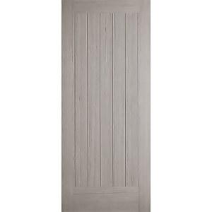 Somerset Internal Prefinished Light Grey Door - 838 x 1981mm