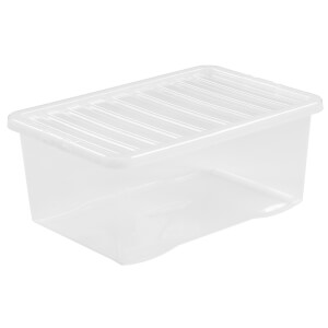 45 Litre Crystal Storage Box & Lid