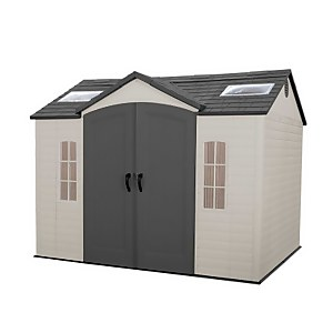 Lifetime 10x8ft Outdoor Storage Shed