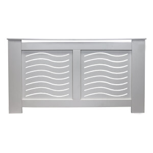 Wave Grey Radiator Cover - Small