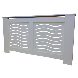 Wave Grey Radiator Cover - Large