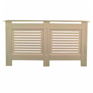 Horizontal Unpainted Radiator Cover - Large