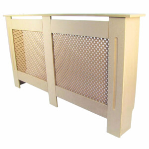 Diamond Unpainted Radiator Cover - Large