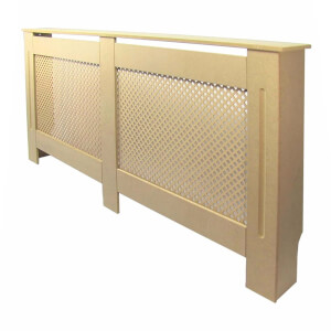 Diamond Unpainted Radiator Cover - Extra Large