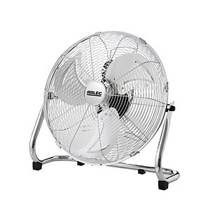 18 Inch Power Floor Fan - Chrome