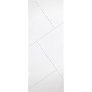 Dover - White Primed Internal Door - 1981 x 838 x 35mm