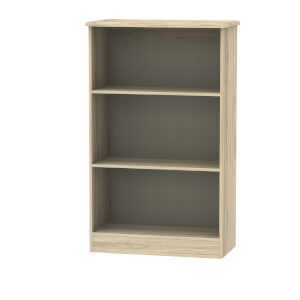 Siena Bookcase - Bordeaux Oak