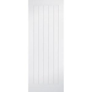 Mexicano - White Primed Internal Door - 1981 x 838 x 35mm