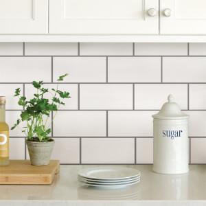Subway Peel & Stick Self Adhesive Wall Tiles
