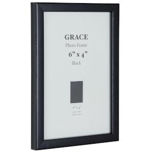 Grace Picture Frame 6 x 4 - Black
