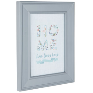 Newham Picture Frame 6 x 4 - Grey