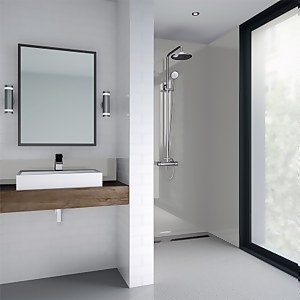 Wetwall White Pearl Gloss - 600mm - Acrylic