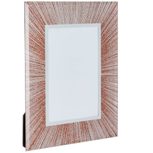 Glitter Picture Frame 6 x 4 - Copper