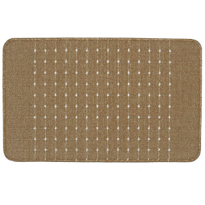 Portland washable mat -Chestnut