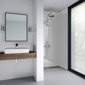 Wetwall Arctic Breeze Gloss - 1220mm - Acrylic