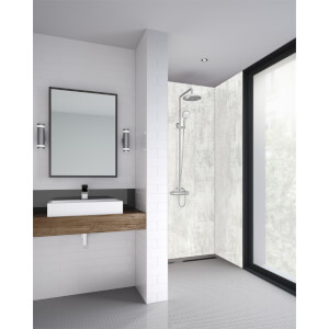 Wetwall Light Stone - 590mm Tongue & Groove - Laminate