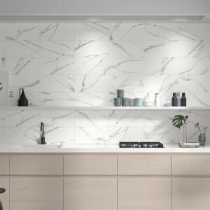 Mulqueen Carrara Wall Tile - 25x50cm