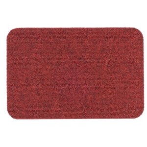 Titan Ribbed Barrier Mat - Red