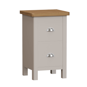 Padstow Bedside Table  - Truffle