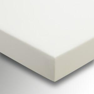 Helena Springfield Plain Dye 36cm Deep Fitted Sheet  - Double - Ivory