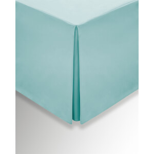 Helena Springfield Plain Dye Valances - Single - Aquamarine