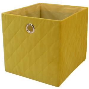 Premium Cube Quilted Velvet Insert - Ochre