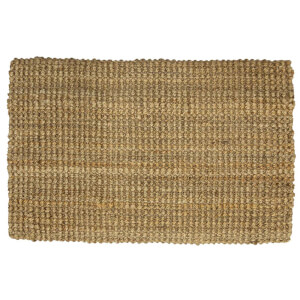 Jute Chunky Weave Rug - Natural