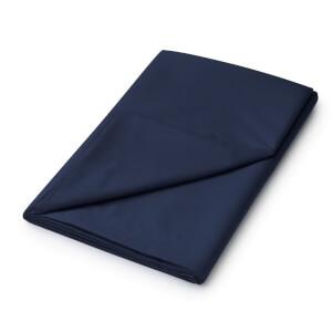 Helena Springfield Plain Dye Flat Sheet - Double - Navy