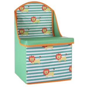 Kids Storage Box Seat Lion Design