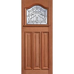 Estate Crown - Hardwood Glazed Exterior Door - 2135 x 915 x 44