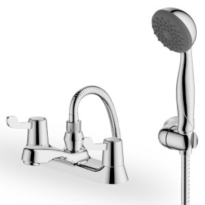 Talisker Lever Bath Shower Mixer - Chrome