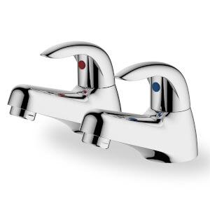 Lodore Bath Pillar Tap - Chrome
