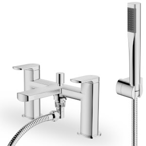 Rogie Bath Shower Mixer - Chrome