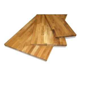 Solid Oak Board - 18 x 300 x 850mm