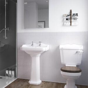 Wetwall White- 1200mm - Wall Panel - Composite