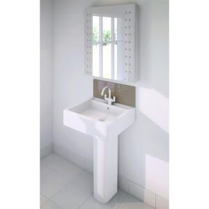 Wetwall Upstand - 900 x 200mm - Mocha - Glass