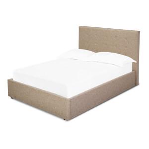 Lucca Lift Kingsize Bed - Beige