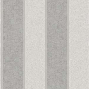 Belgravia Decor San Remo Striped Embossed Metallic Silver Wallpaper